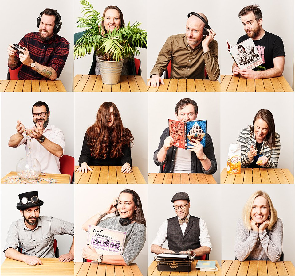 Alternative Business Portraits for IMEX - Brighton