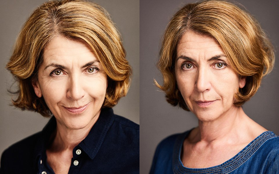 older actress headshots photographer