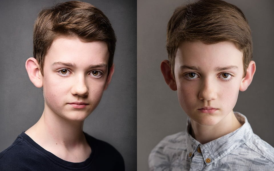 student child actor headshots sussex brighton joe