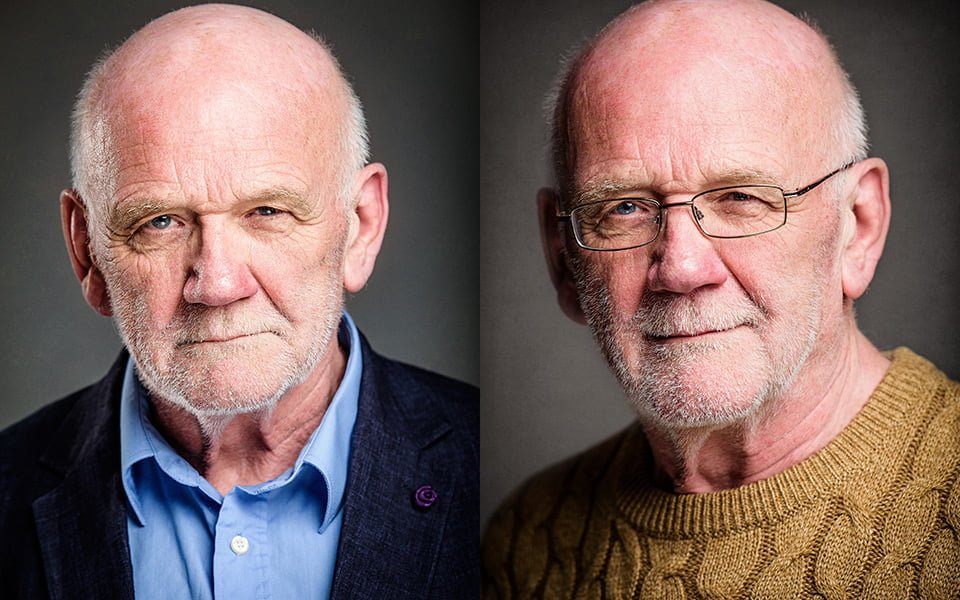 mature actor headshots brighton photographer