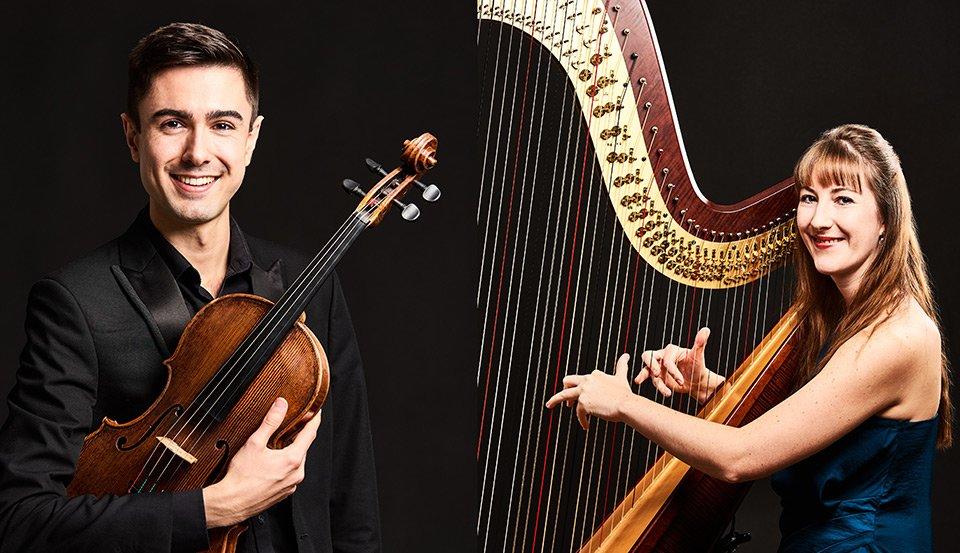 music photographers harp viola flute
