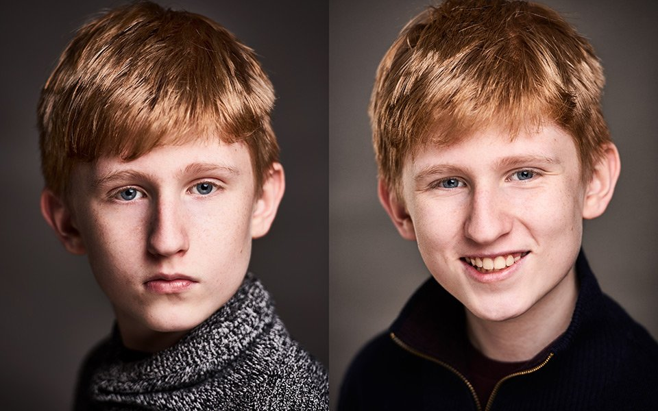 children portrait actor headshots