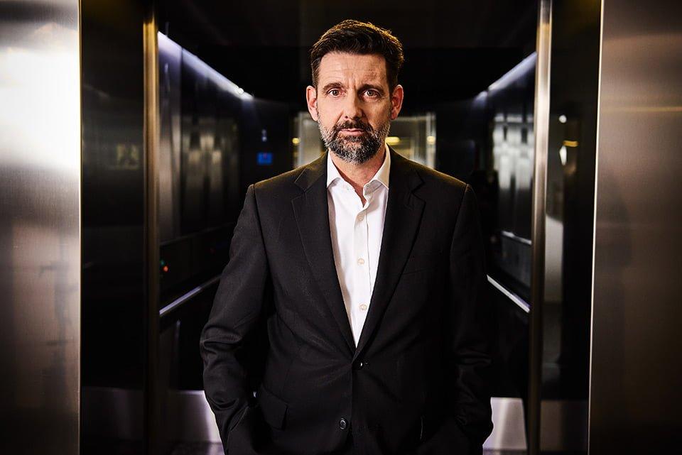 business portrait london edgy accountant