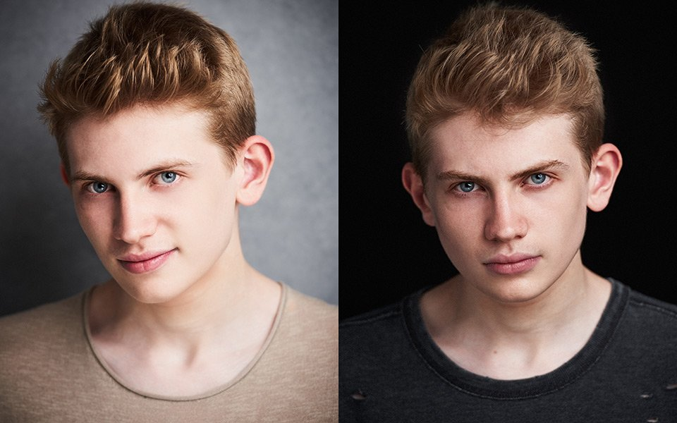 teenager actor headshots