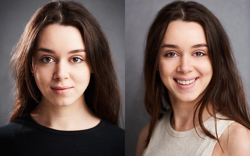 actress actor headshots london brighton portrait studio