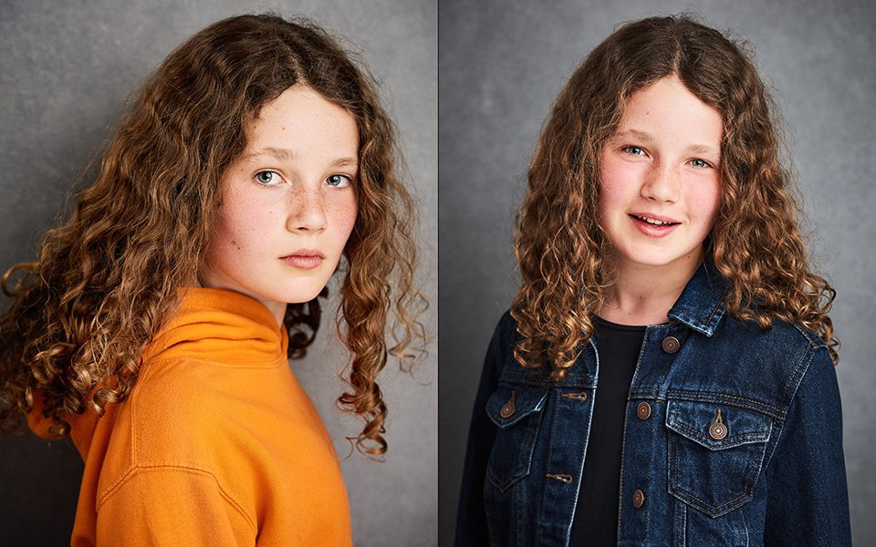 teenage actor headshots brighton photographers